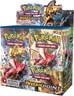 POKEMON BOOSTER X 10 - BREAKPOINT