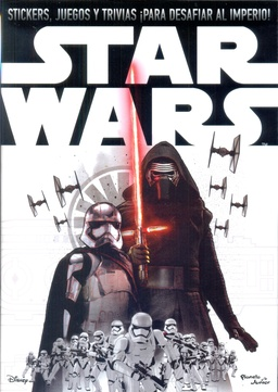STAR WARS EPISODIO VII LIBRO DE STICKERS