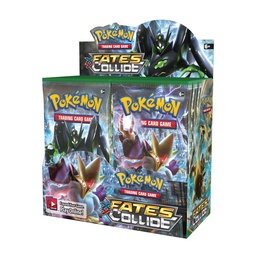 POKEMON BOOSTER X 10 - XY FATES COLLIDE
