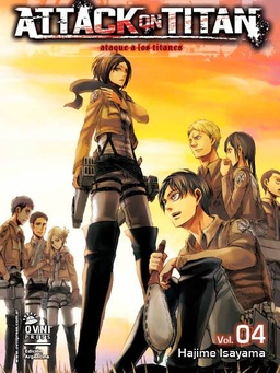 ATTACK ON TITAN # 04