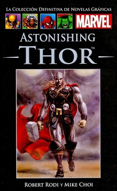COLECC. DEF. MARVEL # 53 - (60) ASTONISHING THOR