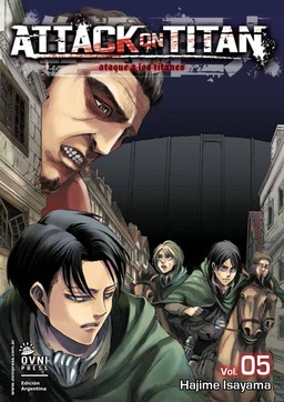 ATTACK ON TITAN # 05