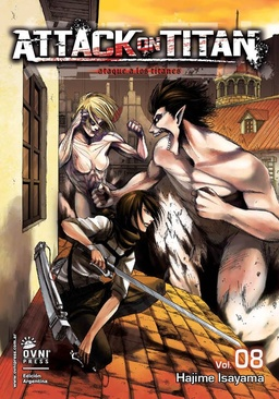 ATTACK ON TITAN # 08