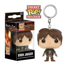 FUNKO POP! KEYCHAIN: ATTACK ON TITAN - EREN JAEGER
