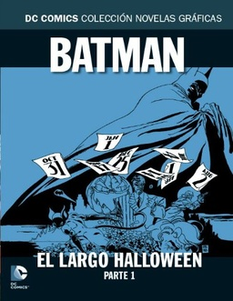 COLECC. NOV. GRAFICAS DC COMICS # 19 - BATMAN EL LARGO HALLOWEEN PARTE 1