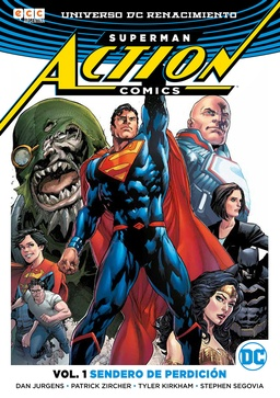 SUPERMAN ACTION COMICS # 01 SENDERO DE PERDICION