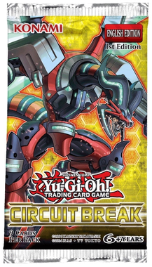 YUGIOH BOOSTER X 9 CARTAS - CIRCUIT BREAK
