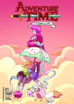 ADVENTURE TIME CON FIONNA Y CAKE