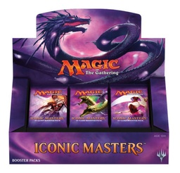 MAGIC BOOSTERS X 15 - ICONIC MASTERS