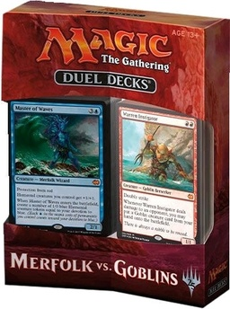 MAGIC DUEL DECKS - MERFOLK VS GOBLINS