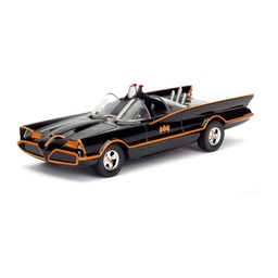 CLASSIC TV SERIES BATMOBILE HOLLYWOOD RIDES METALS DIE CAST ESCALA 1:32 (98225)