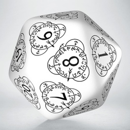 D20 LEVEL COUNTER Q - WORKSHOP WHITE