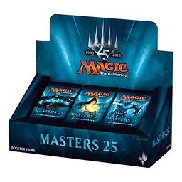 MAGIC BOOSTERS X 15 - MASTERS 25
