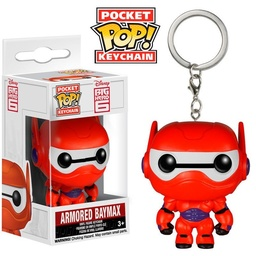 FUNKO POP! KEYCHAIN: BIG HERO 6 - ARMORED BAYMAX