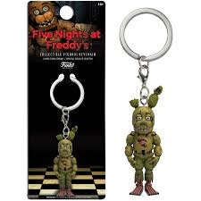 FUNKO POP! KEYCHAIN FIVE NIGHTS AT FREDDY'S SPRINGTRAP