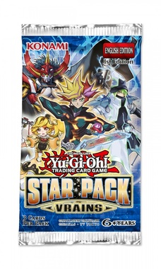 YUGIOH BOOSTER X 3 CARTAS - STAR PACK VRAINS