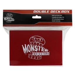 MONSTER DOUBLE DECKS CON IMAN ROJO
