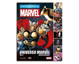 ENCICLOPEDIA MARVEL 2017 # 96 UNIVESO MARVEL VOL. 21