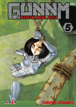 GUNNM BATTLE ANGEL ALITA # 05