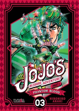 JOJOS BIZARRE ADVENTURE PHANTOM BLOOD # 03