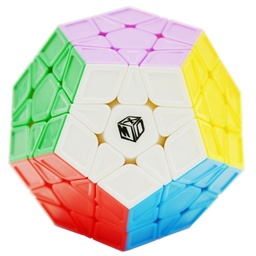 CUBO MAGICO QIYI GALAXY - MEGAMINX SCULPTED STICKERLESS