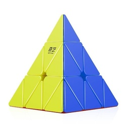 CUBO MAGICO QIYI PYRAMID STICKERLESS