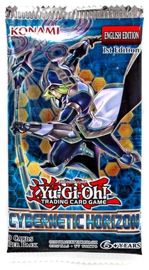 YUGIOH BOOSTER X 9 CARTAS - CYBERNETIC HORIZON