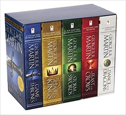 BOX SET GAME OF THRONES 5 (INGLES)