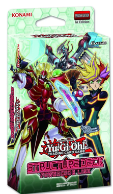 MAZO YUGIOH - STRUCTURE DECK  - POWERCODE LINK