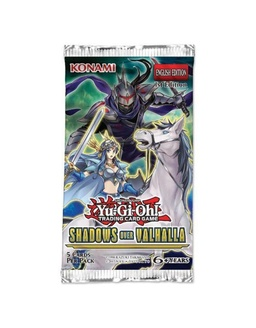 YGO BOOSTER X 5 CARTAS - SHADOWS IN VALHALLA