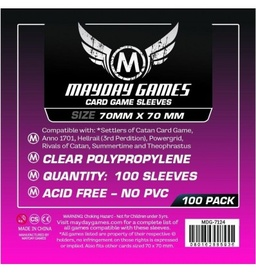 PROTECTORES MAYDAY GAMES SQUARE MINI (70X70) X100