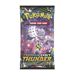 POKEMON BOOSTER X 10 CARTAS - SUN & MOON - LOST THUNDER
