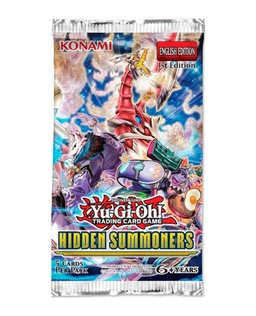 YUGIOH BOOSTER X 5 CARTAS - HIDDEN SUMMONERS