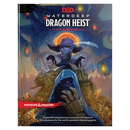 D&D 5TH WATERDEEP DRAGON HEIST ADVENTURE