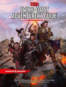 D&D 5TO SWORD COAST ADVENTURER´S GUIDE