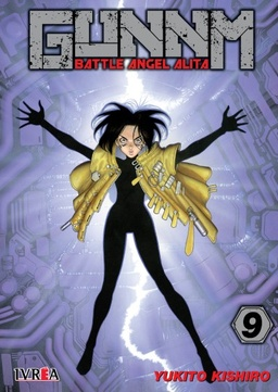 GUNNM BATTLE ANGEL ALITA # 09