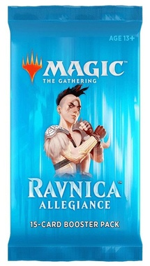 MAGIC BOOSTER X 15 CARTAS - RAVNICA ALLEGIANCE