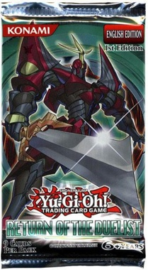 YGO BOOSTER X 9 - EL REGRESO DEL DUELISTA (return of the duelist)
