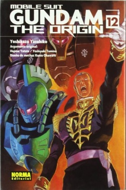 GUNDAM THE ORIGIN # 12