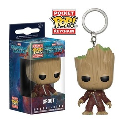 FUNKO POP! KEYCHAIN GUARDIANS OF THE GALAXY VOL 2 GROOT