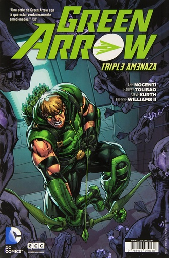 ANIMAL MAN # 03 GREN ARROW TRIPLE AMENAZA