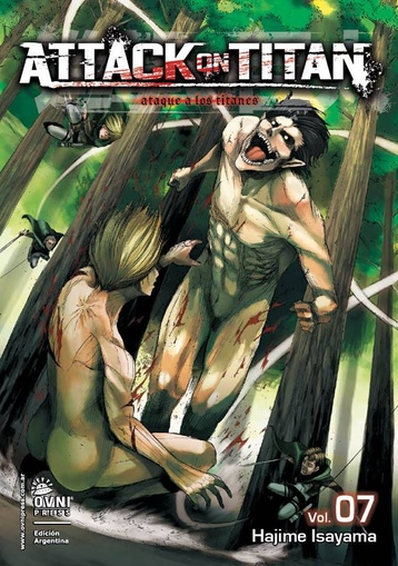 ATTACK ON TITAN # 07