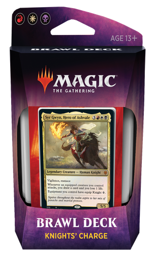 MAGIC MAZO - THRONE OF ELDRAINE BRAWL DECK KNIGHTS' CHARGE