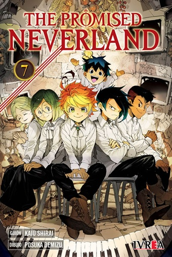 THE PROMISED NEVERLAND # 07